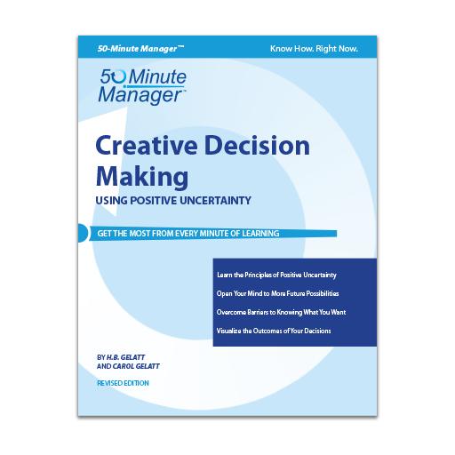 (AXZO) Creative Decision Making, Revised Edition eBook