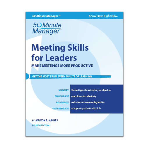 (AXZO) Meeting Skills for Leaders, Fourth Edition eBook