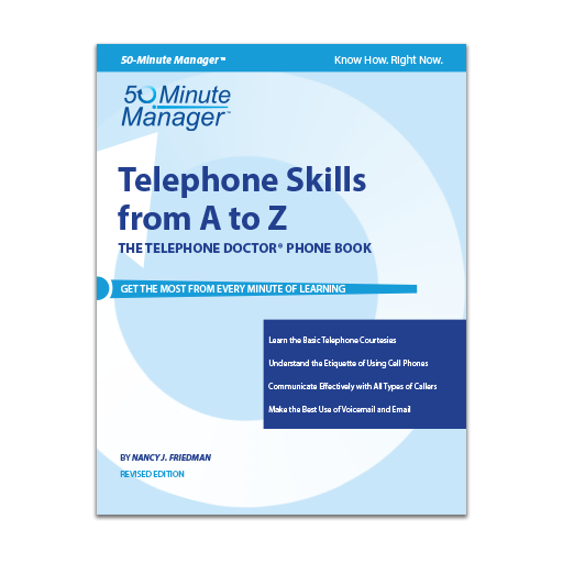 (AXZO) Telephone Skills from A to Z, Revised Edition eBook