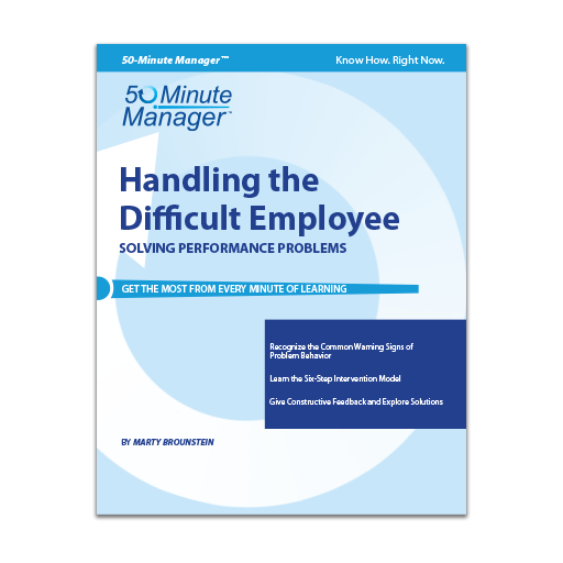Handling the Difficult Employee