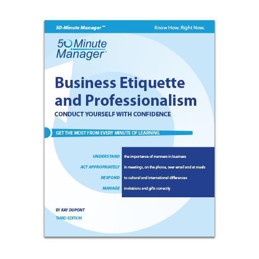 Business Etiquette & Professionalism Third Edition