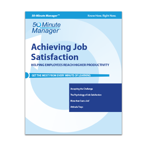 (AXZO) Achieving Job Satisfaction eBook