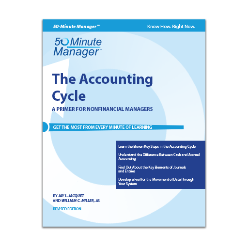 The Accounting Cycle Revised Edition