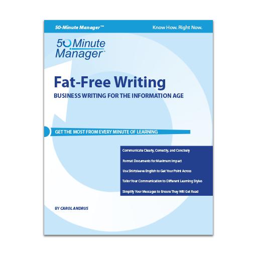 Fat-Free Writing