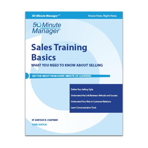 Sales Training Basics Third Edition