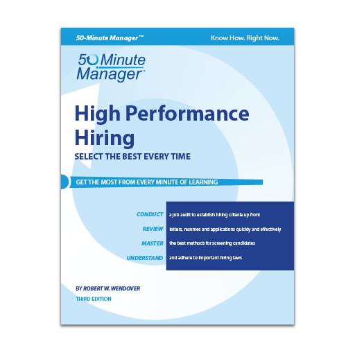 High Performance Hiring Third Edition