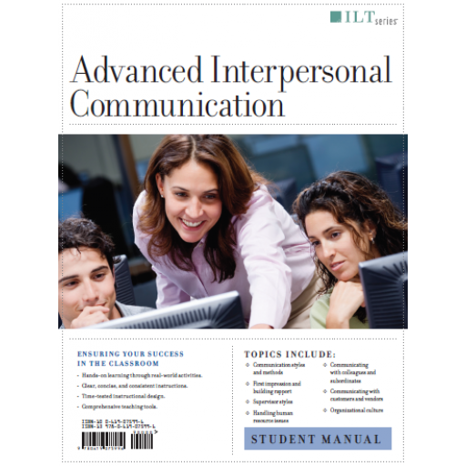 (AXZO) Advanced Interpersonal Communication, Student Manual