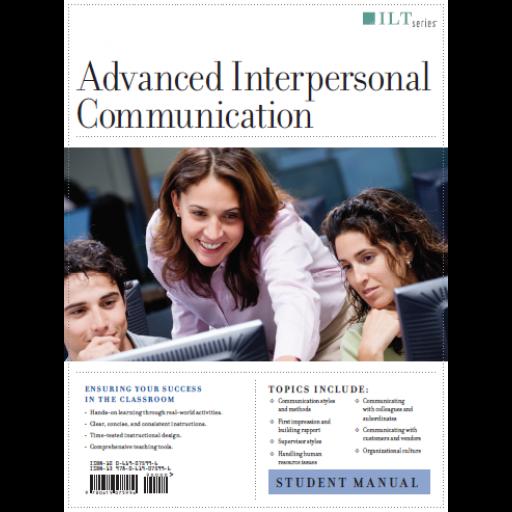 (AXZO) Advanced Interpersonal Communication, Student Manual eBook
