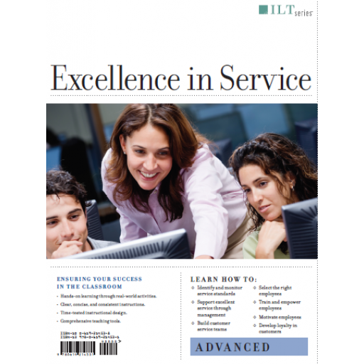 (AXZO) Excellence in Service: Advanced, Student Manual eBook