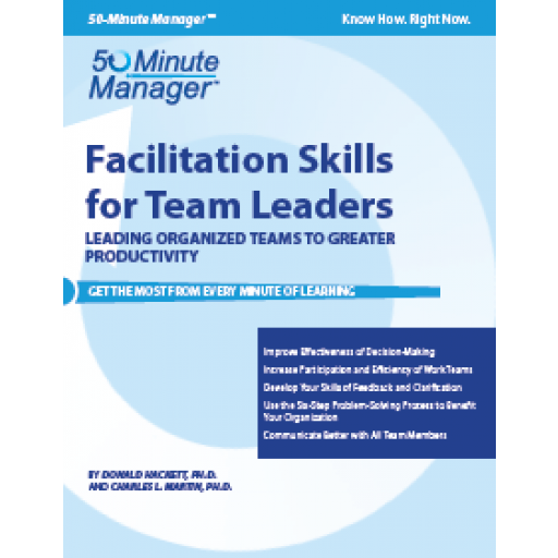 (AXZO) Facilitation Skills for Team Leaders eBook