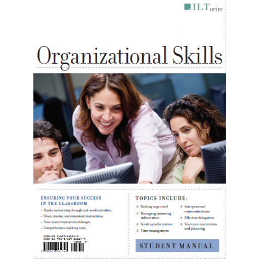 (AXZO) Organizational Skills, Student Manual eBook