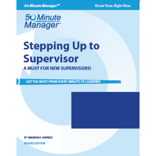 (AXZO) Stepping Up to Supervisor, Revised Edition eBook