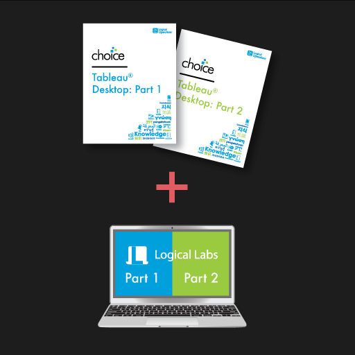 Tableau Desktop: Part 1 and Part 2 with LogicalLAB