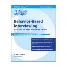 Behavior-Based Interviewing