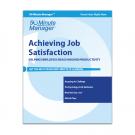 Achieving Job Satisfaction