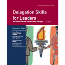 (AXZO) Delegation Skills for Leaders, Third Edition, Instructor's Guide eBook