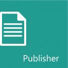 Microsoft Publisher 2003: Level 1