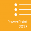 (Full Color) Microsoft Office PowerPoint 2013: Part 1 (Desktop/Office 365)