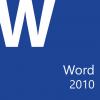 Microsoft Office Word 2010: Part 1