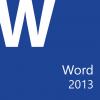 Microsoft Office Word 2013: Part 2