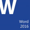 (Full Color) Microsoft Office Word 2016: Part 1 (Desktop/Office 365)
