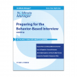 Preparing for the Behavior-Based Interview