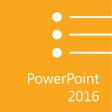 Microsoft Office PowerPoint 2016: Part 1 (Desktop/Office 365)